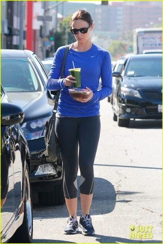 Emily Blunt: Smoothie Stop