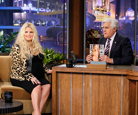 Jessica - Tonight Show with Jay Leno - March 12, 2012