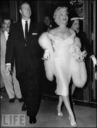 MM & Joe DiMaggio