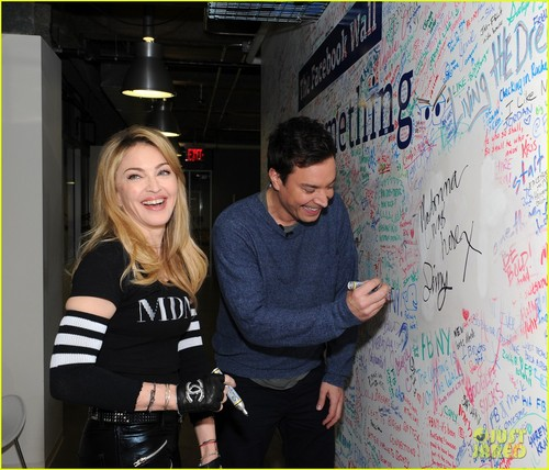 Madonna: Facebook Live Chat with Jimmy Fallon