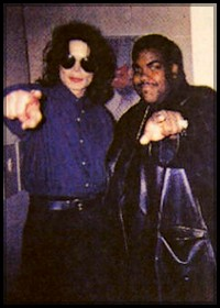 Michael Jackson and Rodney Jerkins (rare picture ) ♥