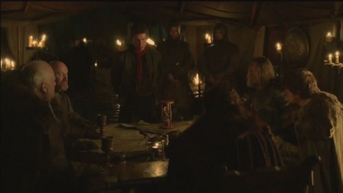 Robb and soldiers