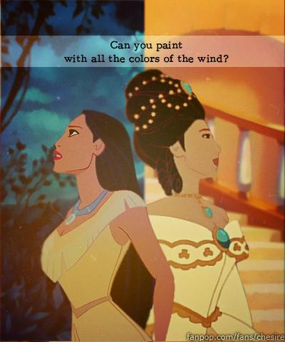 Then and Now - Pocahontas