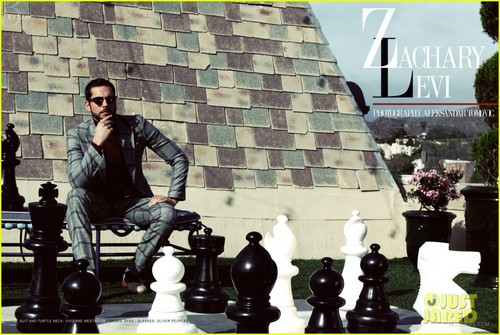 Zachary Levi Covers 'Bello' Magazine