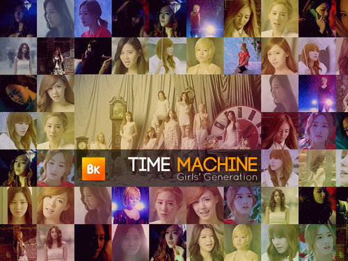 SNSD Wallpaper Time Machine