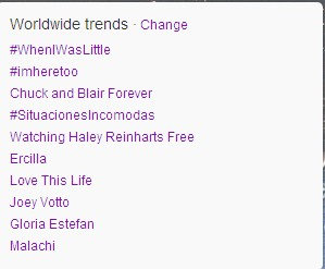 Chuck and Blair Forever WW TT