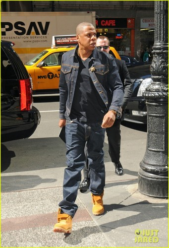 Jay-Z: Denim Dad