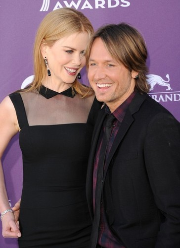 Keith and Nicole at The Academy of Country موسیقی Awards 2012