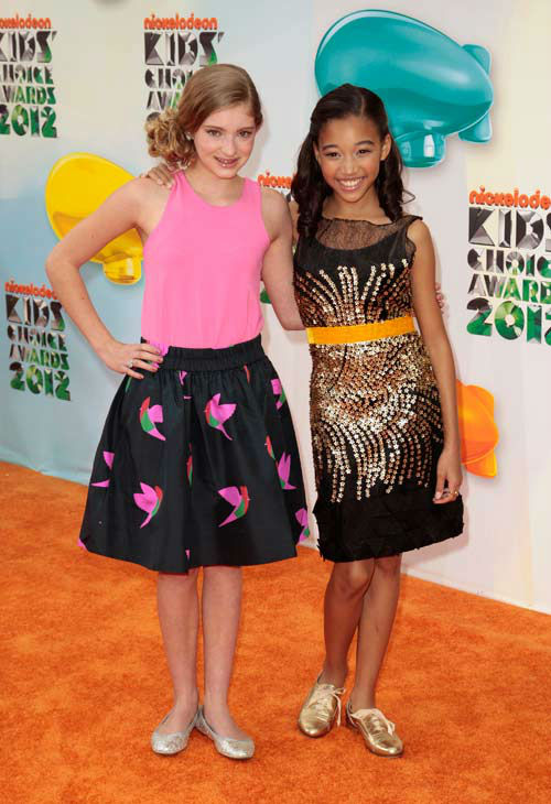 Willow Shields at KCA'S & Amandla Stenberg