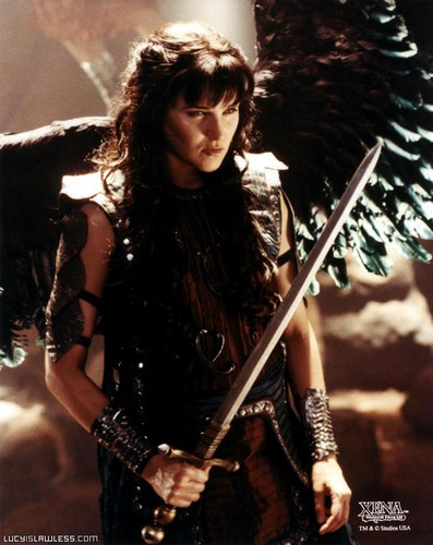 Xena, warrior angel