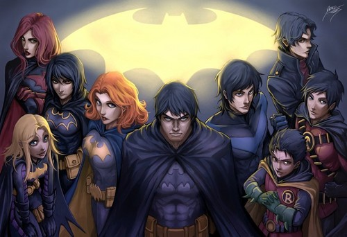 Bat family unmasked!