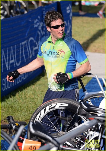 James Marsden: St. Jude's Triathlete