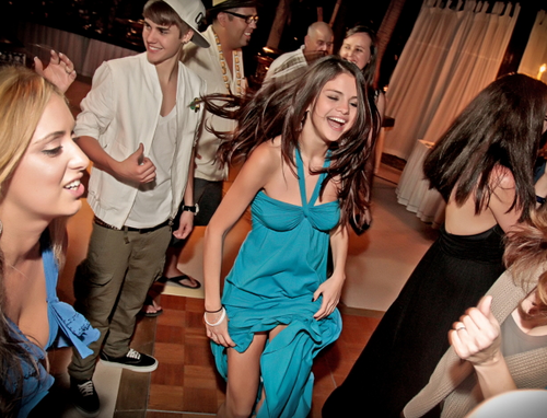 Jelena at a friend's wedding in Mexico (Dec. 2011)