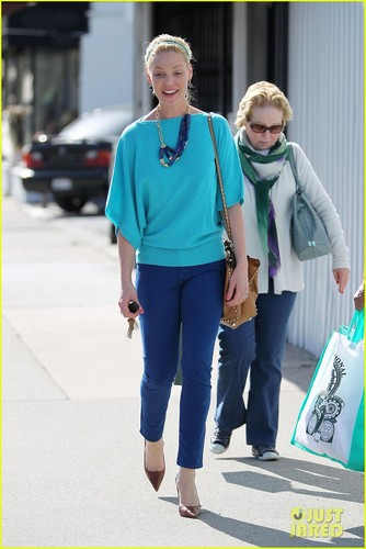 Katherine Heigl: dag Out with Mom