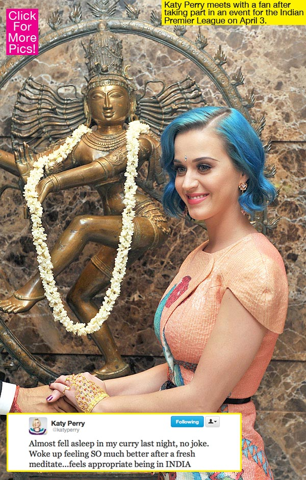 Katy perry in india(IPL)