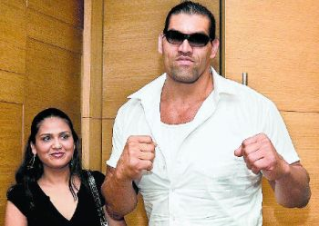 Khali With Wife The Great Khali Image 30340795 Fanpop Page 4