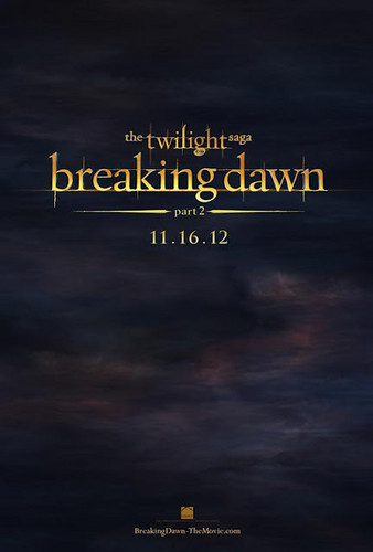 Poster official Breaking Dawn Part 2