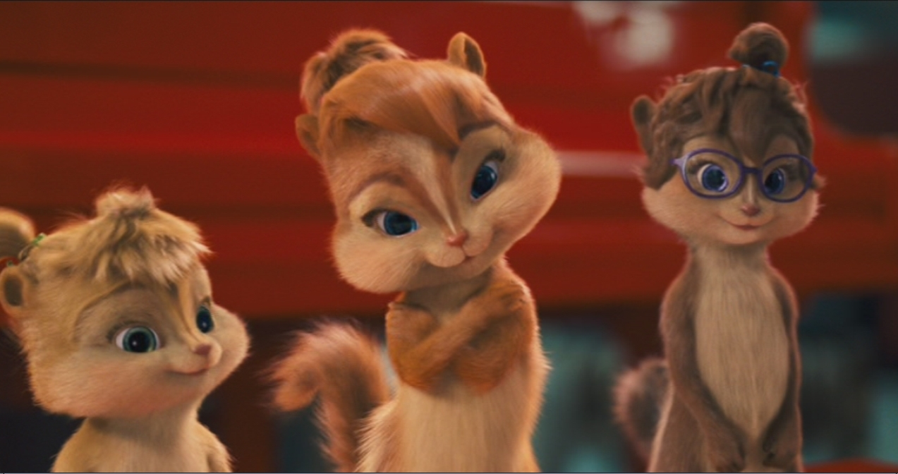 Alvin And The Chipmunks Alvin And Brittany brittany & her sisters - alvin and the chipmunks brittany