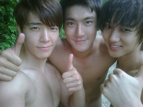DONGHAE, SIWON, YESUNG<3