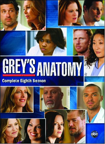 Grey's Anatomy Season 8 dvd cover