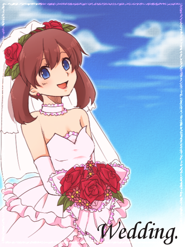 May haruka wedding