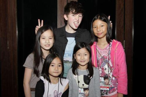 Me biging silly with fans :)