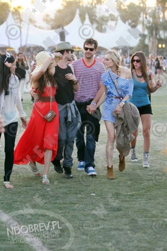 More Nina and Ian at Coachella!