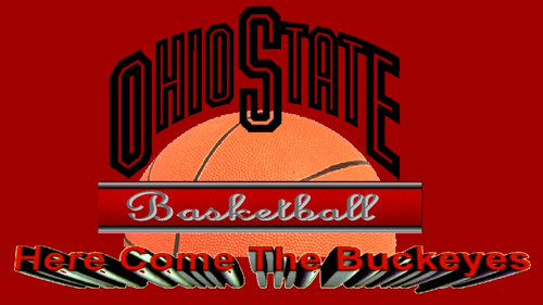 OHIO STATE bola basket HERE COME THE BUCKEYES