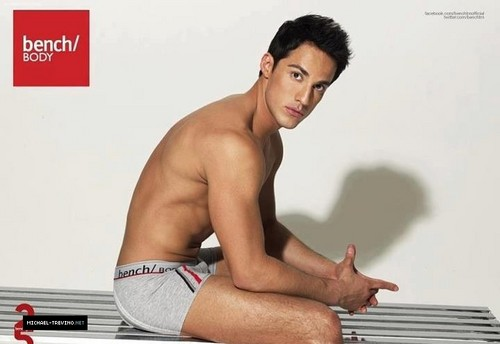 Outtakes from Michael Trevino's photoshoot for Bench Body