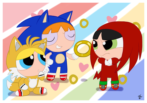 PPG as Sonic ヒーローズ