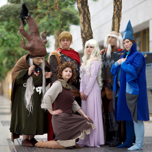 'The Last Unicorn' cosplay