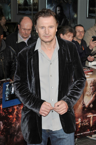 'Wrath of the Titans' UK premiere