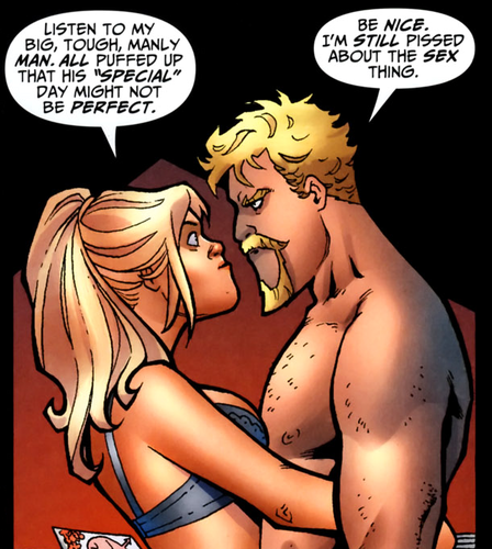 ArrowxCanary Adorableness