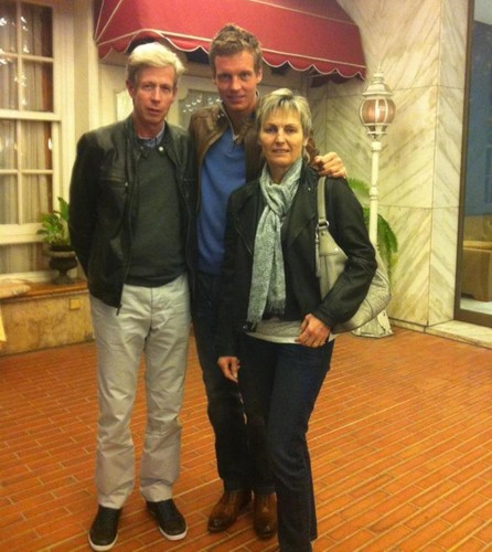 Berdych parents