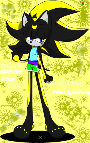 Blade the Hedgehog's Muscle outfit ((Base used))