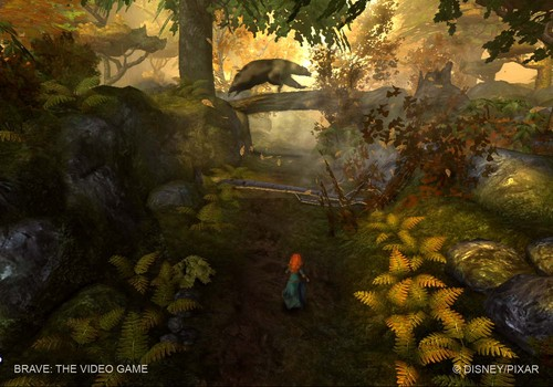 Brave, the new pixar's videogame