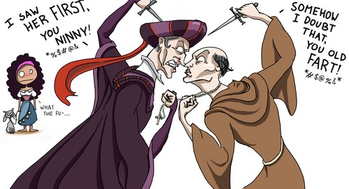Frollo vs. Frollo?