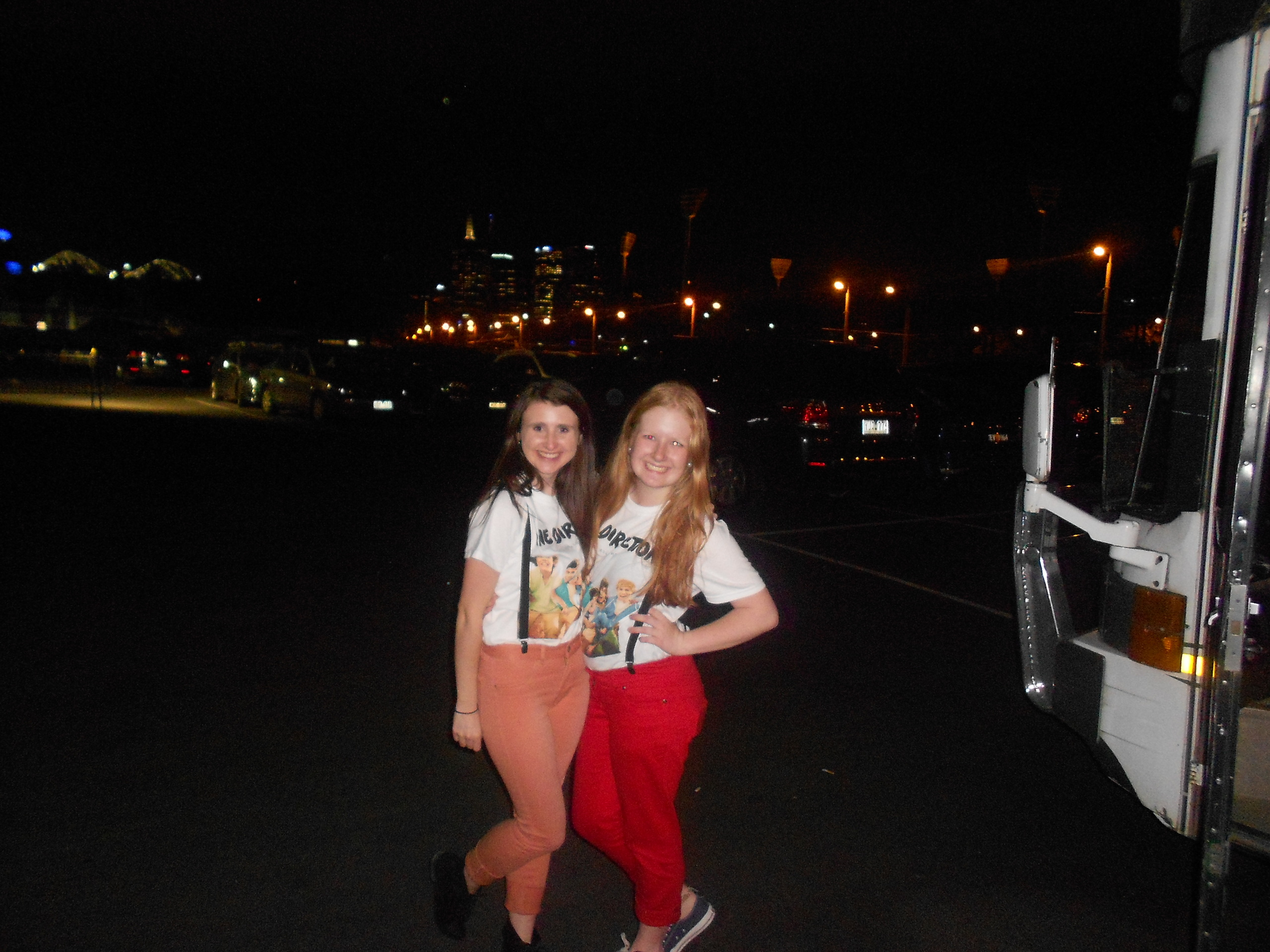 Me and my bestfriend at the ONE DIRECTION CONCERT!!!!