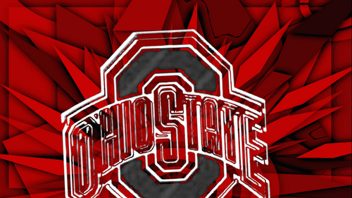 OHIO STATE GRAY BLOCK O