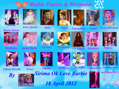 barbie fairies & mermaids