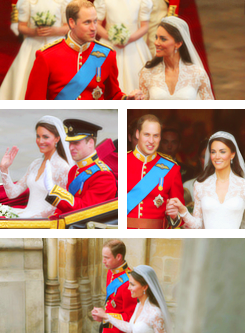 Happy One Jahr Anniversary Catherine & Prince William!