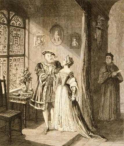 Henry VIII and Anne Boleyn's reconciliation