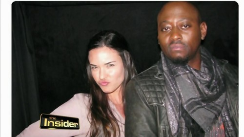 Omar Epps and Odette Annable House MD- The Insider
