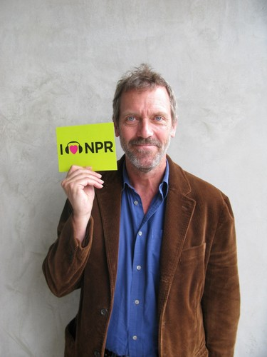 Hugh Laurie- NPR (National Public Radio)