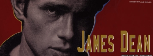 James Dean Facebook cover تصویر