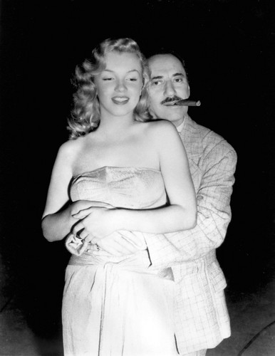 Marilyn Monroe and Groucho Marx (Love Happy)