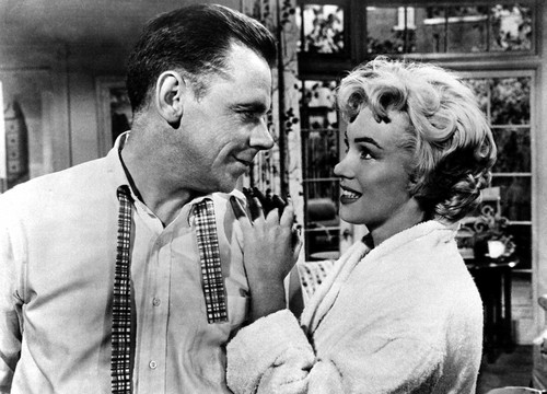 Marilyn Monroe and Tom Ewell (Seven tahun Itch, The)