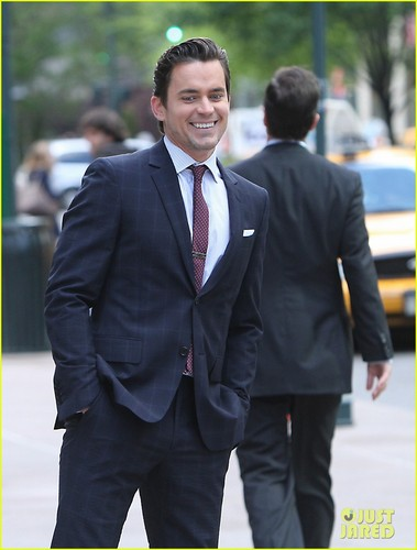 Matt Bomer: 'White Collar' Set!