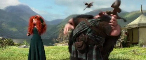 Merida and Her Father - Brave Takes on the NFL Draft