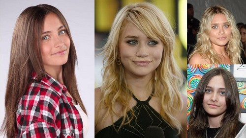 Paris Jackson and Ashley Olsen kinda look alike